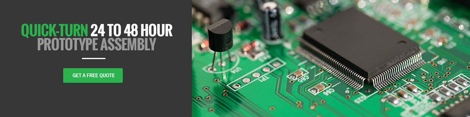 Pcb Quote Extraordinary Quick Turn Pcb Manufacturing Pcb Assembly Services